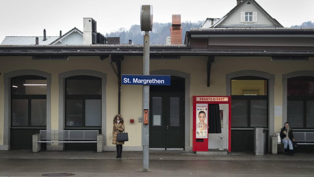 Der Mann überquerte die Grenze bei St.Margrethen.