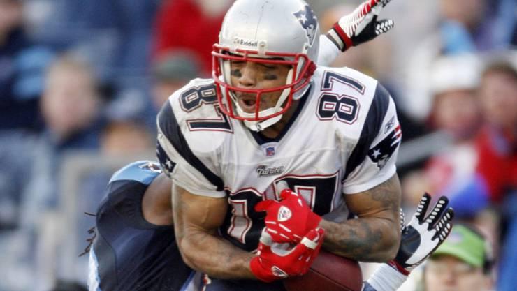 Reche Caldwell spielte in der NFL-Saison 2006 für die New England Patriots um Star-Quarterback Tom Brady
