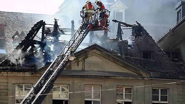 Feuerwehreinsatz in der Berner Altstadt