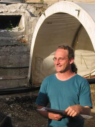Hannes Flück, Ausgrabungsleiter Vision Mitte