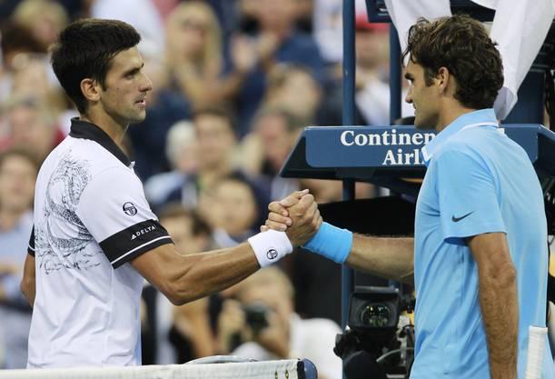 Im Halbfinal ist Schluss für Federer gegen den späteren Sieger. Er verliert 7:5, 1:6, 7:5, 2:6 und 5:7.