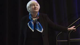 Fed-Chefin Janet Yellen sieht die US-Wirtschaft als stark genug um eine Leitzinserhöhung zu verkraften.