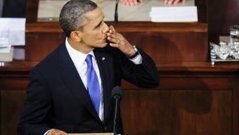 Obama zeigte sich erfreut ob der vorläufigen Einigung im Budgeststreit.  (Archiv)
