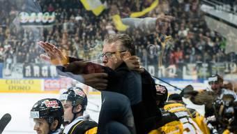 Diesmal zeigte Lugano-Coach Shedden den richtigen Weg: Sein Team gewinnt 8:1