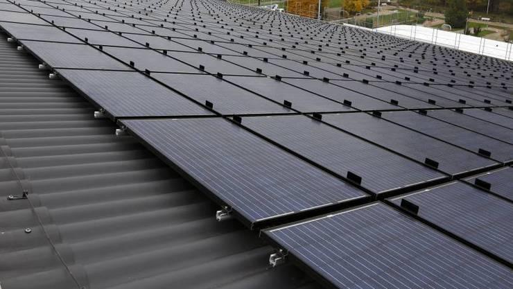 Die Jäggi-Bigler AG installiert auch Photovoltaik-Anlagen.