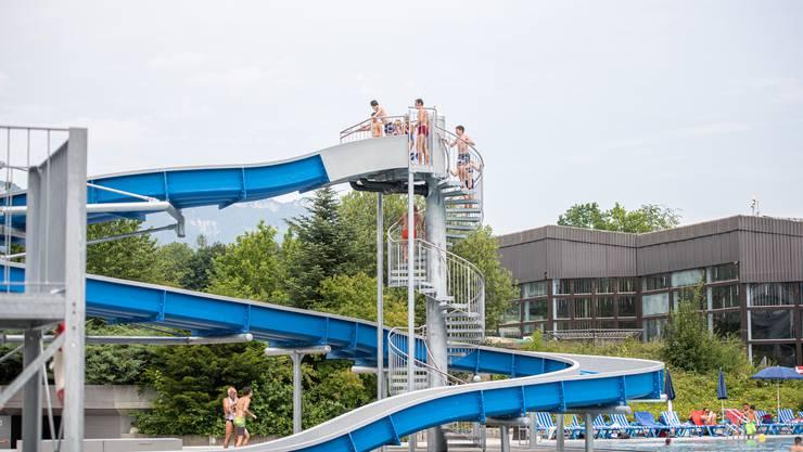 Zwar wurde auch das Freibad in Zuchwil wegen des Lockdowns später geöffnet. Man profitierte aber von den attraktiven Angeboten nach der Sanierung.