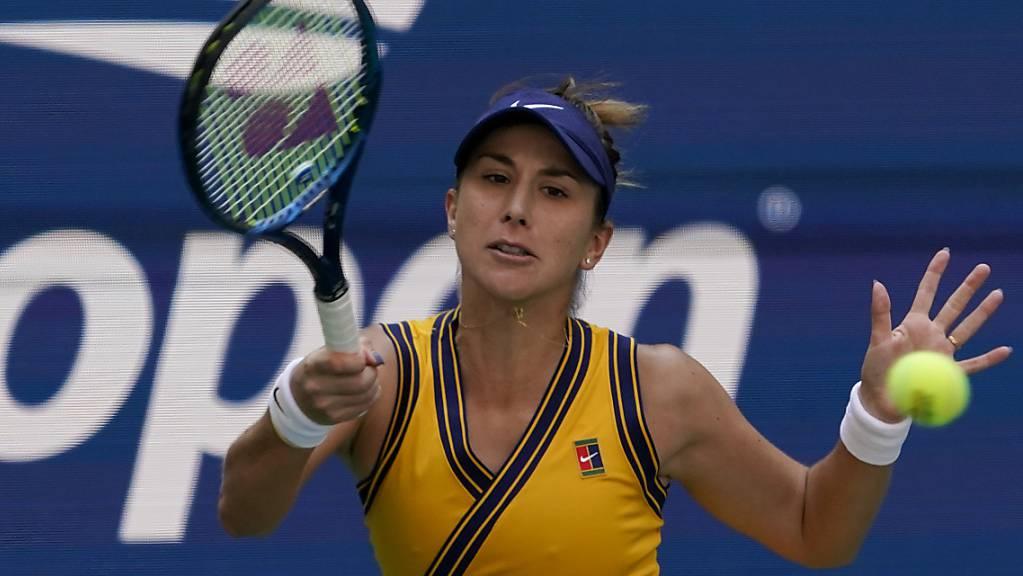 Belinda Bencic verpasste ihren zweiten Halbfinal-Einzug am US Open nach 2019.