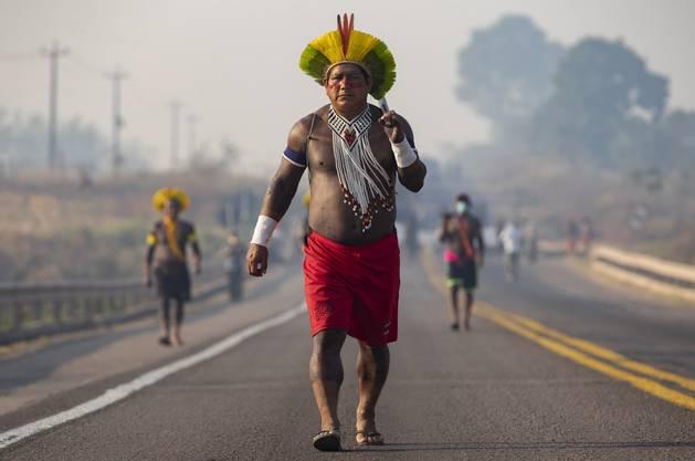 Die Indigenen seien «vorangekommen auf dem Weg zum Mensch sein», spottete Bolsonaro kürzlich.