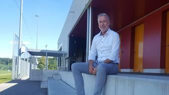 Peter Gloor ist seit 2013 Präsident der Platzgenossenschaft Brügglifeld und sitzt im Verwaltungsrat der Stadion AG.