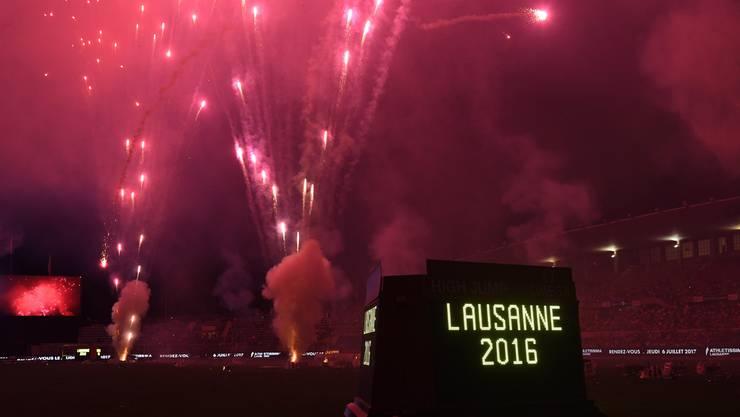 Steht das derzeitige Feuerwerk von Lausannes Sportkosmos erst an seinem Anfang?
