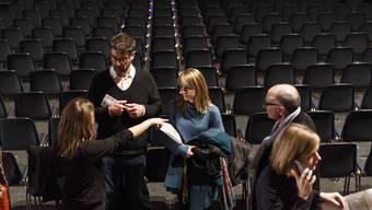Ein Blick hinter die Kulissen am Eröffnungstag der 53. Solothurner Filmtage