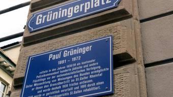 In St. Gallen gibt es einen Grüningerplatz (Archiv)