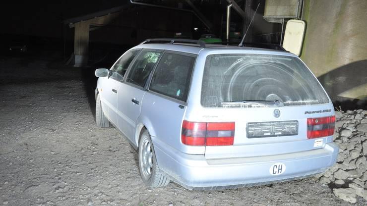 Der Täter fuhr einen VW Passat.
