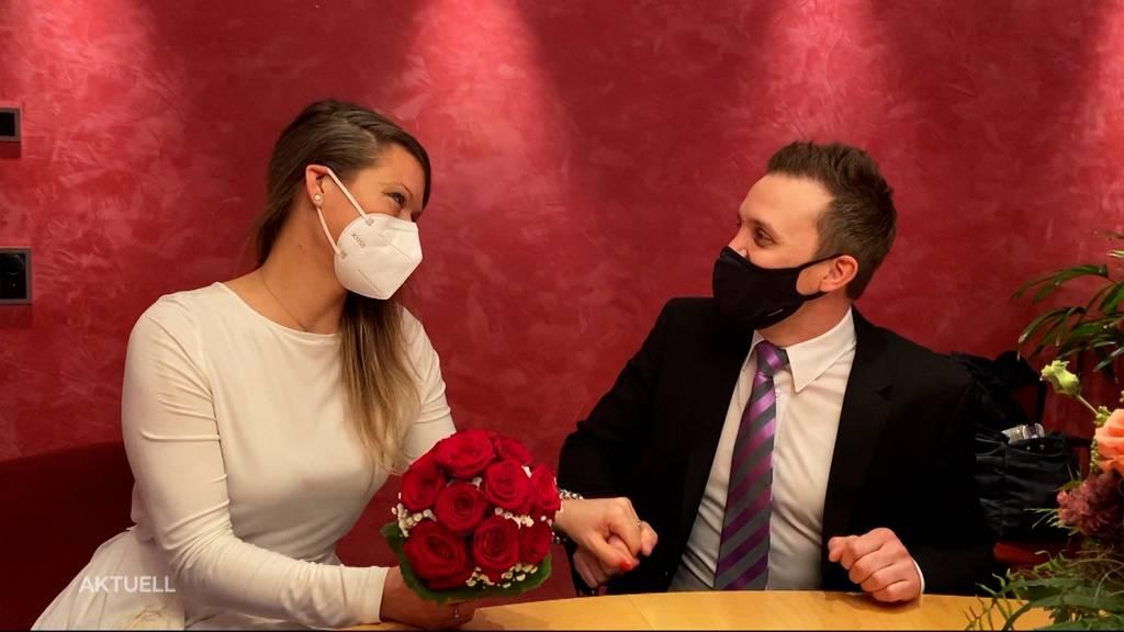 21.01.2021: So heiraten Paare während des Shutdowns