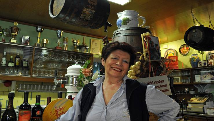 Franca Donelli im «Chrützliberg»: Herzlich, warm – und wenn es sein musste auch mal ruppig. az archiv