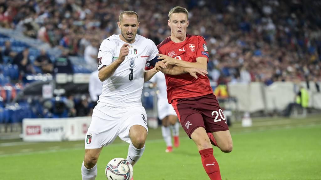 Die Schweizer Nati trennt sich 0:0 vom Europameister Italien