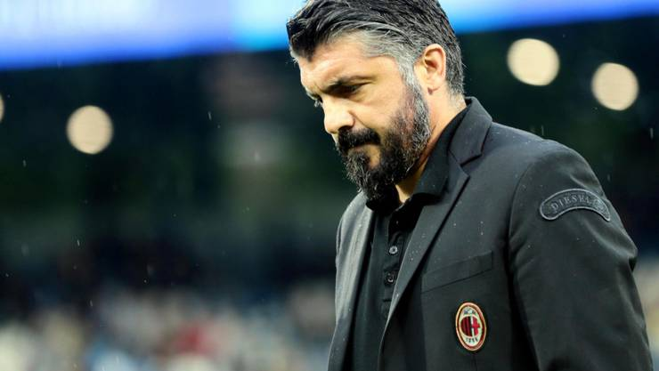 Verpasste mit der AC Milan die Champions League: Muss Trainer Gennaro Gattuso nun gehen?