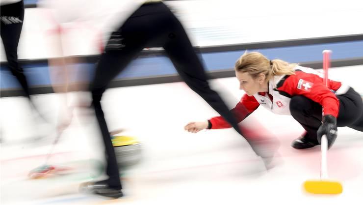 Starker Saisonbeginn als Belohnung für die harte Arbeit: die Curlerinnen des CC Aarau mit Skip Silvana Tirinzoni.