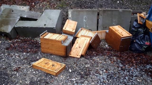 Elf Bienenvölker gestohlen
