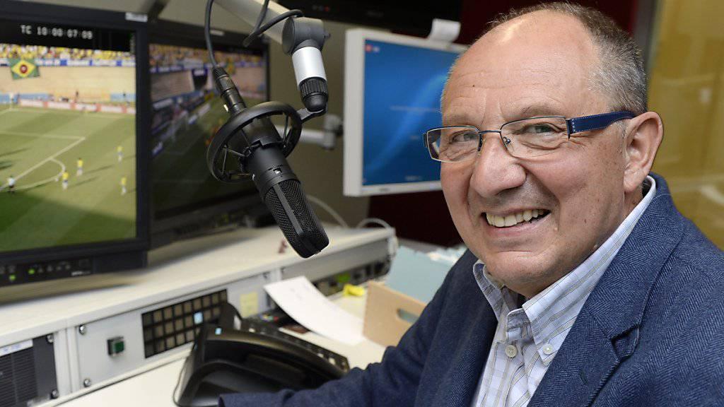 Beni Thurnheer ist bald jeden Montag auf Radio Top zu hören. (Archiv).