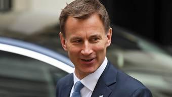 Will eine Schutzmission für die Schifffahrt im Persischen Golf: der britische Aussenminister Jeremy Hunt.