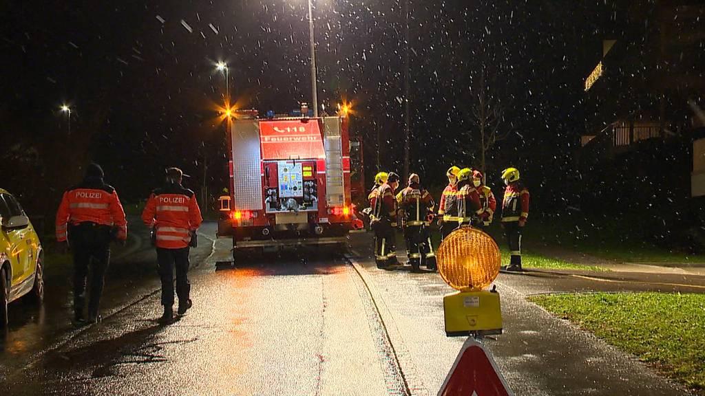 Rorschacherberg (SG): Brand macht Wohnung unbewohnbar