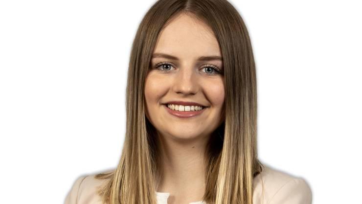 Melanie Racine kandidiert für die Jungfreisinnigen Kanton Solothurn.