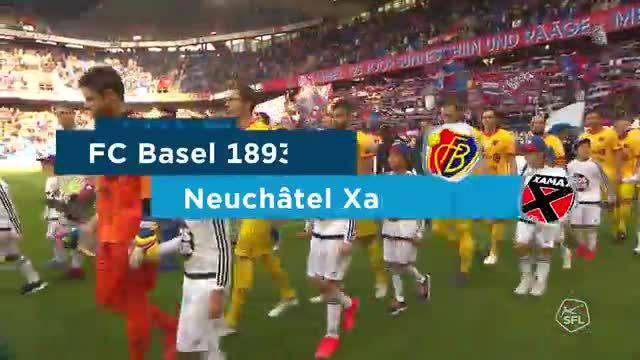 Super League, 2018/19, 11. Runde,  FC Basel– Neuchatel Xamax, komplette Highlights