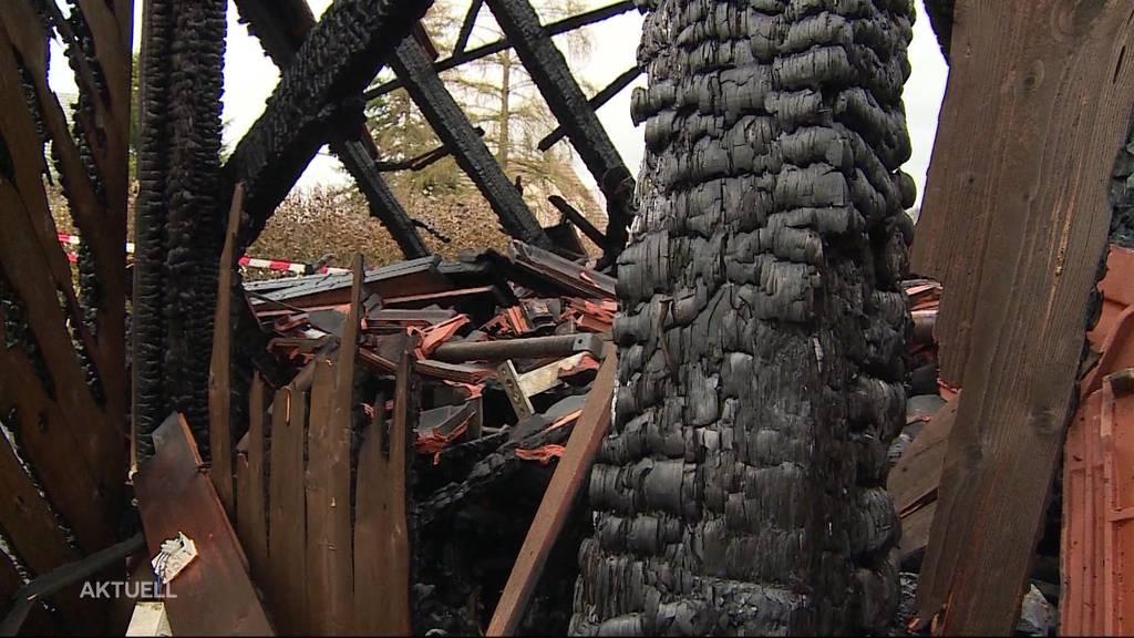 """""""Es hätte schlimmer kommen können"""": Glück im Unglück bei Brand in Staufen"""
