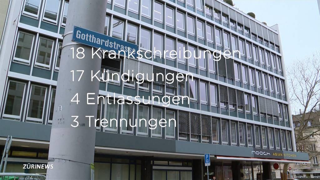 Chaos im Zürcher Stadtrichteramt