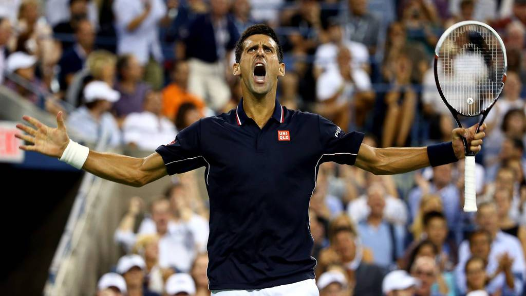 Novak Djokovic im Final der World Tour Finals