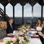 Gutes Verhältnis trotz Differenzen: US-Präsident Donald Trump hat den Präsidenten Frankreichs zu einem Staatsbesuch in die USA eingeladen. (Archivbild)