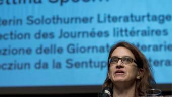 Nicht mehr länger Direktorin der Solothurner Literaturtage: Bettina Spoerri (Archiv)