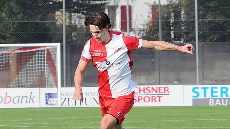 Auch das erste Tor von Marco Mathys konnte die Niederlage des FCS nicht verhindern: Bild: Markus Müller