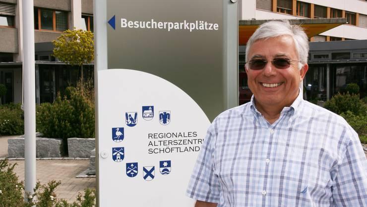 Mit dem Alterszentrum verbunden: Noch-Vereinspräsident Ruedi Wirth. (Bild: Barbara Vogt)
