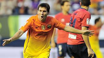 Lionel Messi einmal mehr erfolgreich - und gleich zweimal