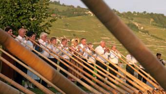Der Alphorn-Event in Mailand soll die Schweiz ins beste Licht rücken. (Archiv)