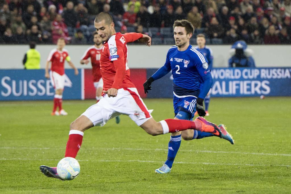 WM-Quali Schweiz vs. Färöer in Luzern