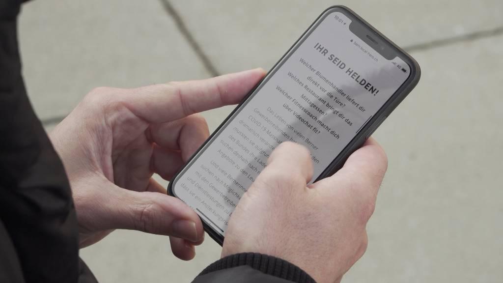 «Local Hero»: App hilft Berner Kleinunternehmen