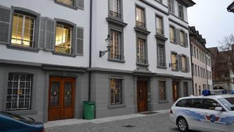 Das Bezirksgericht Bremgarten.
