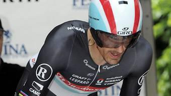 Fabian Cancellara liess im TdF-Prolog die Konkurrenz hinter sich