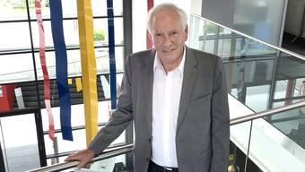 Der Zofinger Unternehmer Heinz Aeschlimann