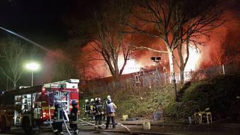 Kindergarten brennt bis auf die Grundmauern nieder