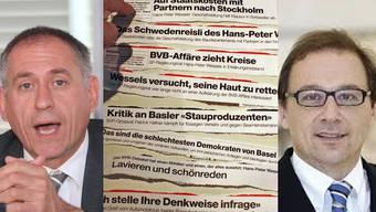 Hans-Peter Wessels schaltet in der «BaZ»-Affäre Medienanwalt Urs Saxer rechts ein.