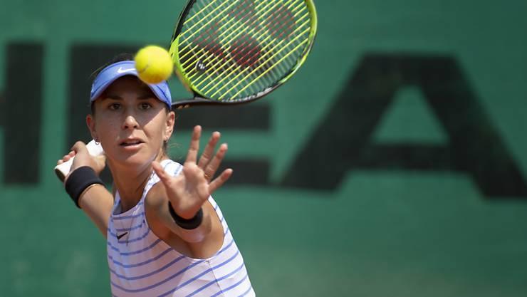 Belinda Bencic ist in Rom nach einer klaren Zweitsatz-Niederlage bereits ausgeschieden