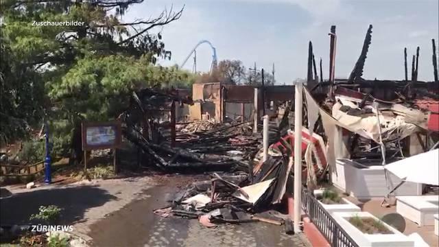 Schadensinspektion nach Europapark-Inferno – Schweizer Besucherin: «Ich habe so etwas noch nie erlebt»