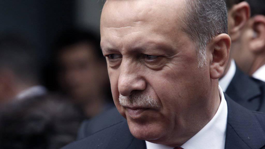 Schliesst die Todesstrafe nicht aus: Recep Tayyip Erdogan.
