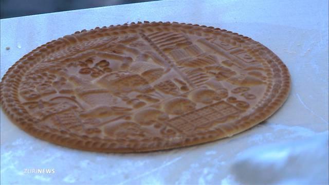 Tirggel-Bäcker zeigt sein Handwerk
