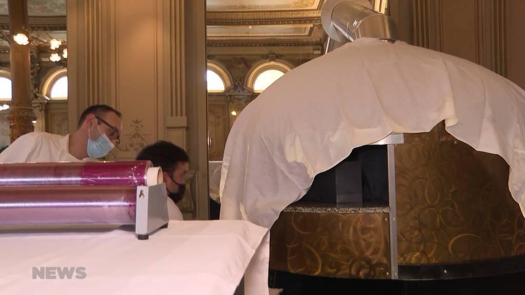 Corona-Krise: Luxushotel Victoria-Jungfrau in Interlaken schliesst vorübergehend