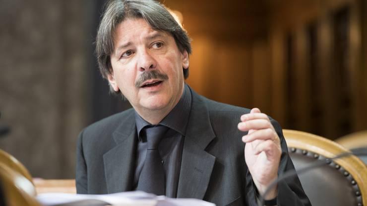 Paul Rechsteiner, SR (zuvor NR), SP/SG, 32 Amtsjahre.